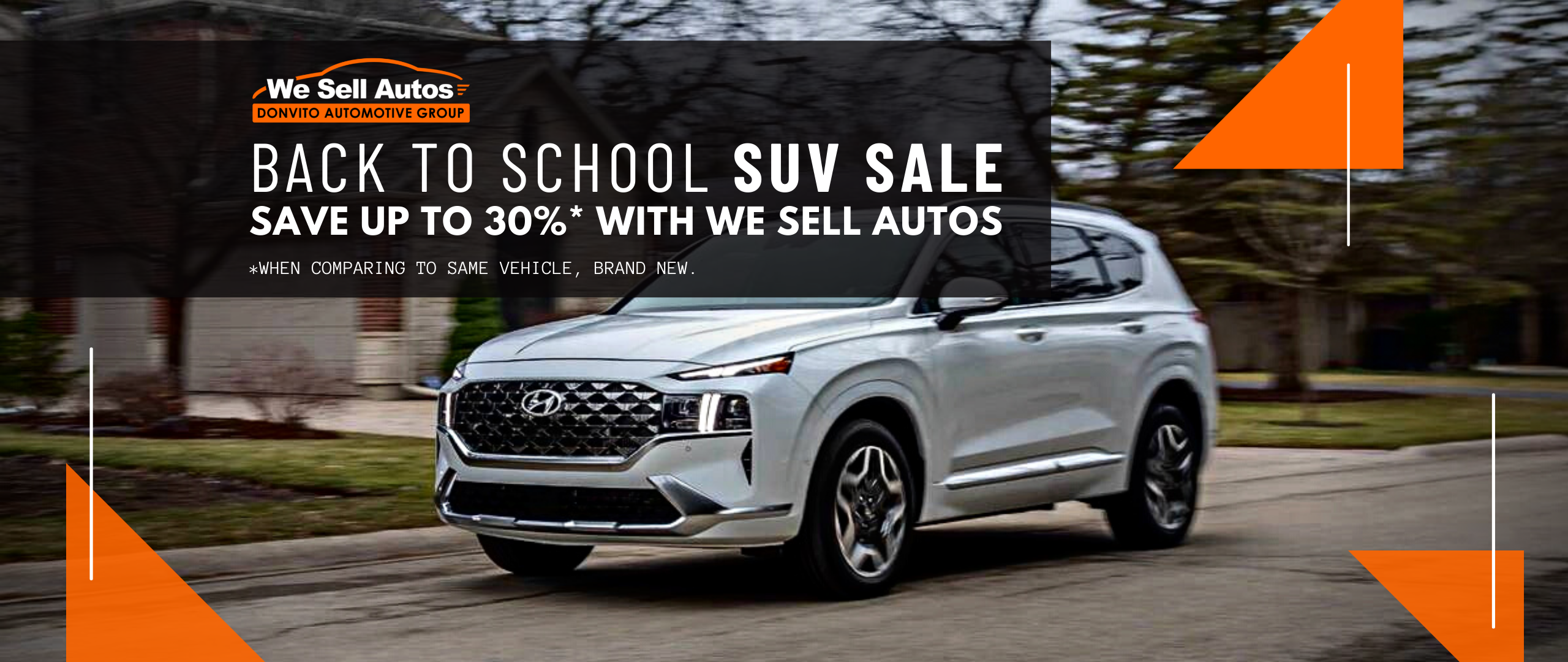 Suv Sale - Special Conditions For Students, Newcomers And More!